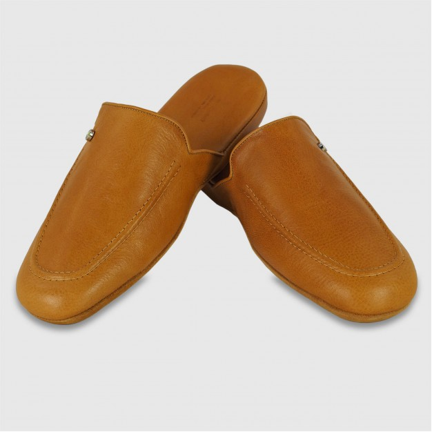 Pantofole uomo in pelle Toscana
