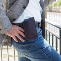 Portatelefono da cintura in pelle - Universale