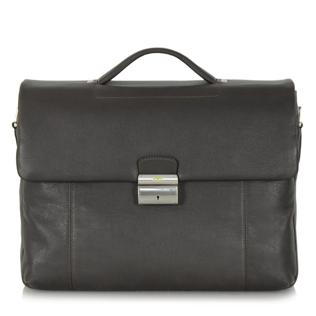 Business bag for Men in soft leather