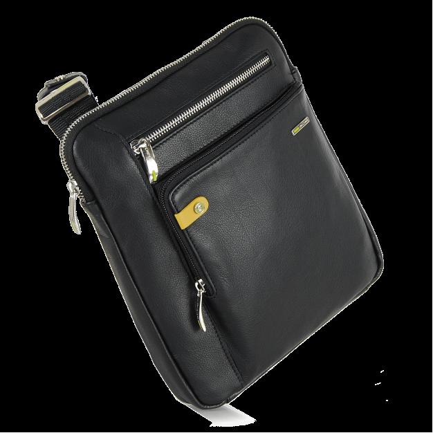 """Shoulder bag for Men, Crossbody bag in leather 11"""""""