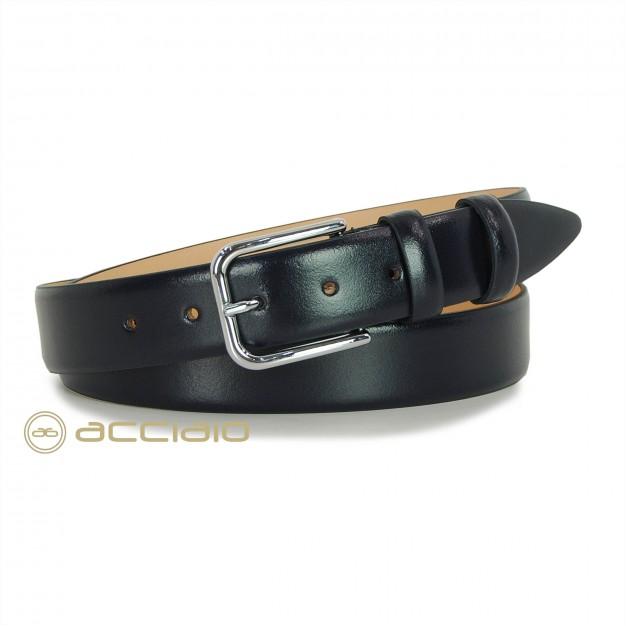 Cintura elegante da uomo senza cuciture in pelle | Acciaio