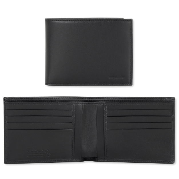 Wallet for Men in Smooth leather with 8 credit card