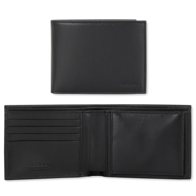 Wallet for Men with Purse and 4 cards in smooth leather