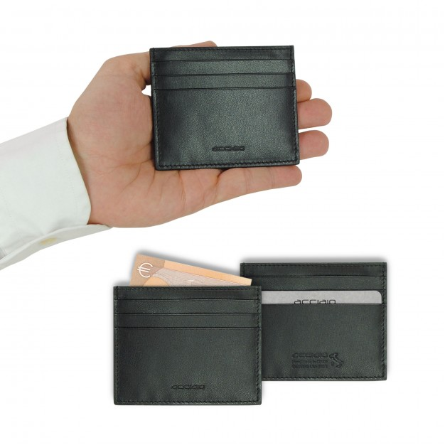 Credit card holder in Smooth leather