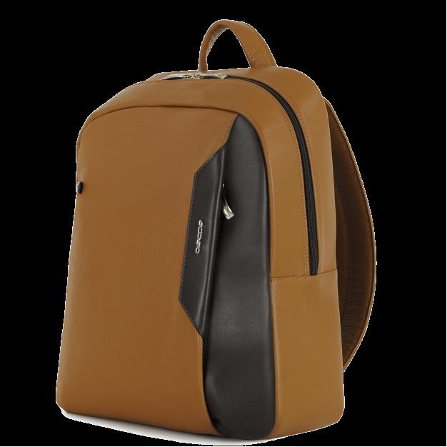 Leather Laptop Backpack Medium-size