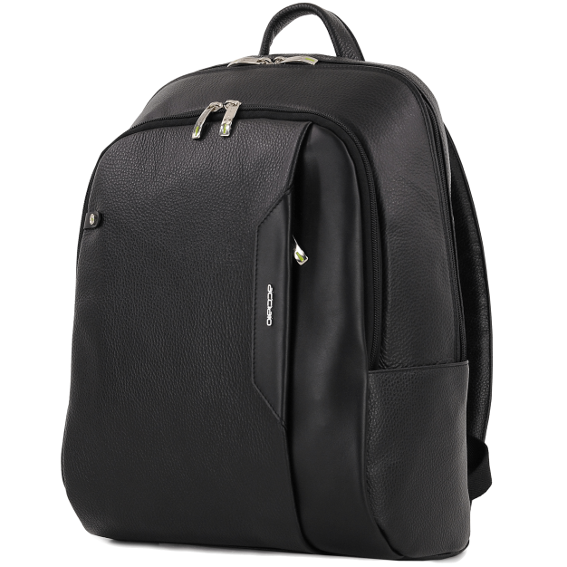 Leather Laptop Backpack Large-size