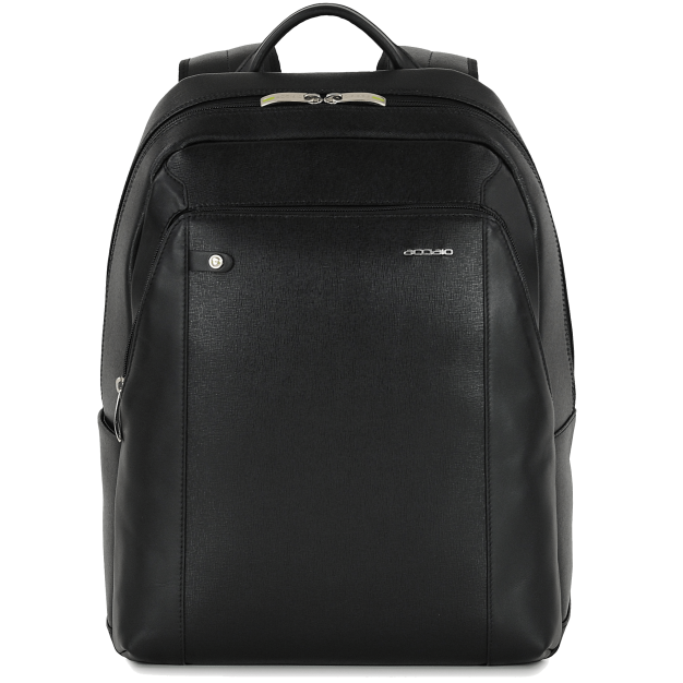 Leather Backpack Ergonomic Large in Saffiano