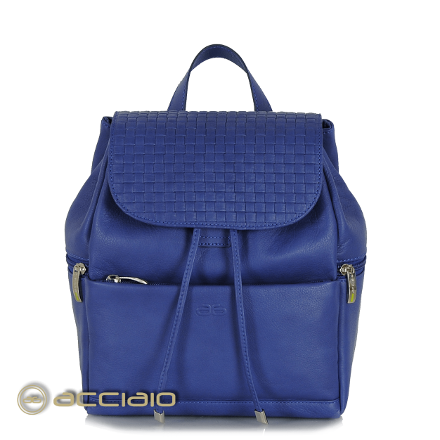 Leather Backpack for Women with zip